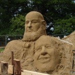 Sand Sculptures but of who?...
